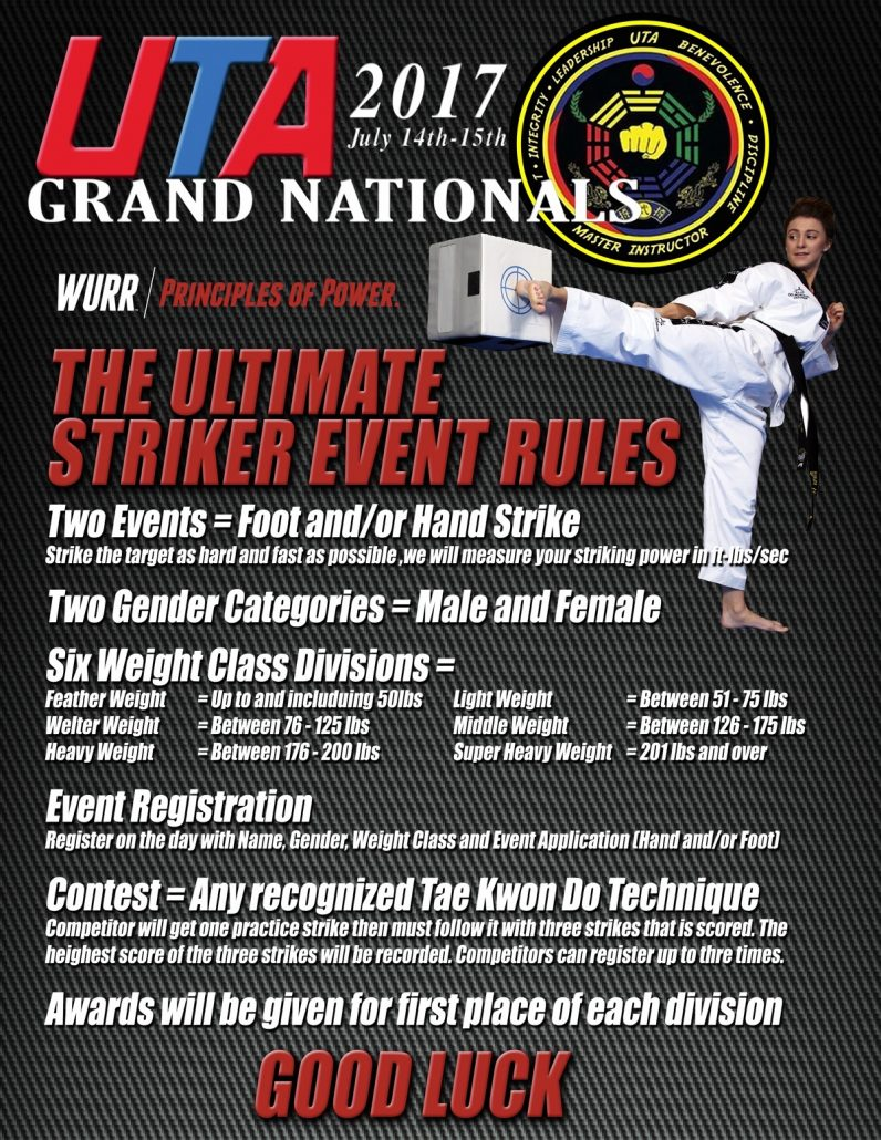 UTA Grand Nationals Striker Event Page 2