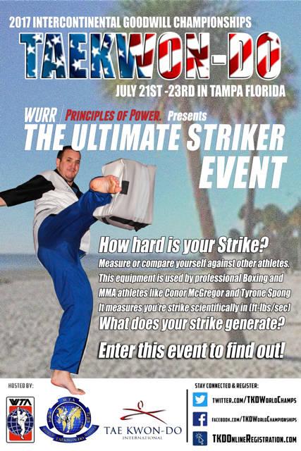 2017 Intercontinental Goodwill Championship Ultimate Striker Event